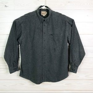 Woolrich Men Casual Button Down Shirt Rugged